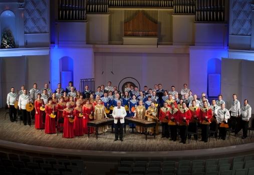 Национальный академический оркестр народных инструментов России имени Н.П.Осипова
