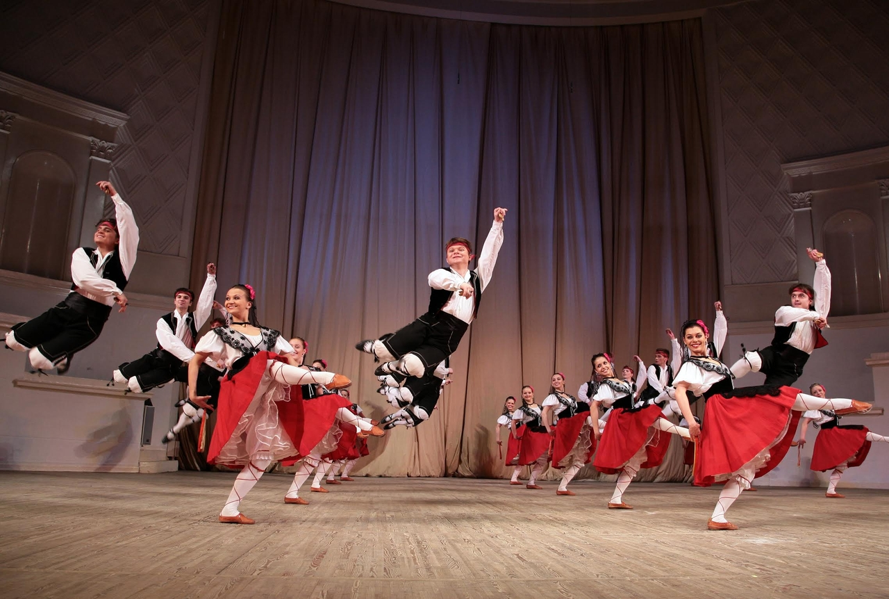 моисеева путаница ансамбль танец