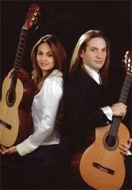 Гитарный дуэт: Анабель Монтесинос и Марко Тамайо